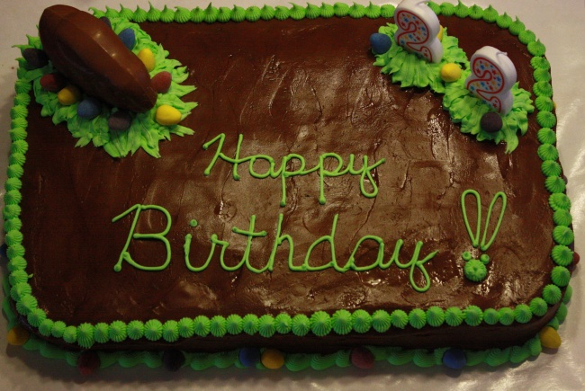 Kirsten's 22nd Birthday Cake
